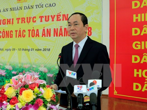 President requests serious handling of economic, corruption cases hinh anh 1