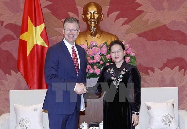 Vietnam keen to deepen comprehensive partnership with US: top legislator hinh anh 1