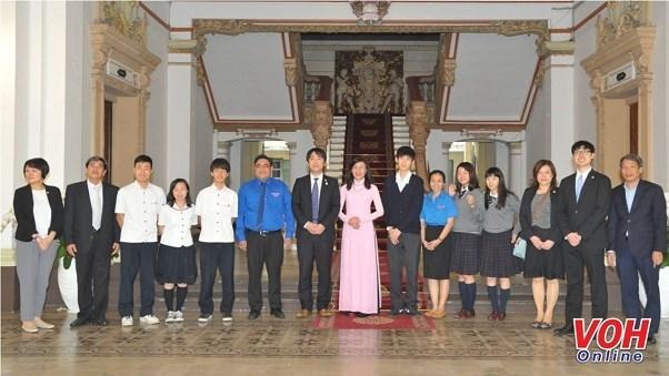 HCM City, Osaka youths enhance friendship cooperation hinh anh 1