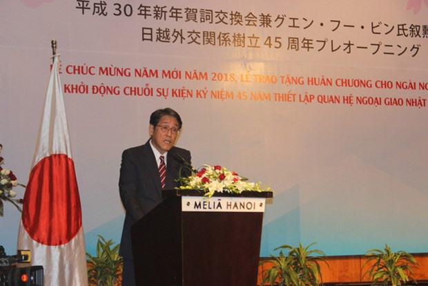 Celebrations of Vietnam-Japan diplomatic ties launched hinh anh 1