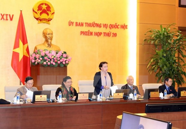 National Assembly Standing Committee's 20th session opens hinh anh 1