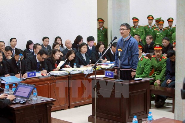 "Court looks into ""property embezzlement"" charges in PVC case hinh anh 1"
