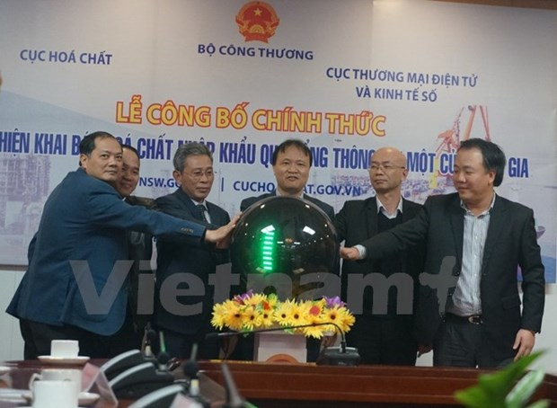 National one-stop-shop portal facilities chemical declaration hinh anh 1