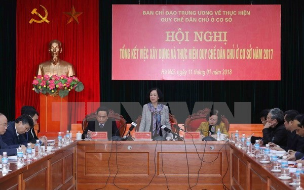 Party committees' responsibility for grassroots-level democracy urged hinh anh 1