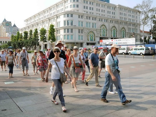 Tourism events in HCM City lure visitors hinh anh 1