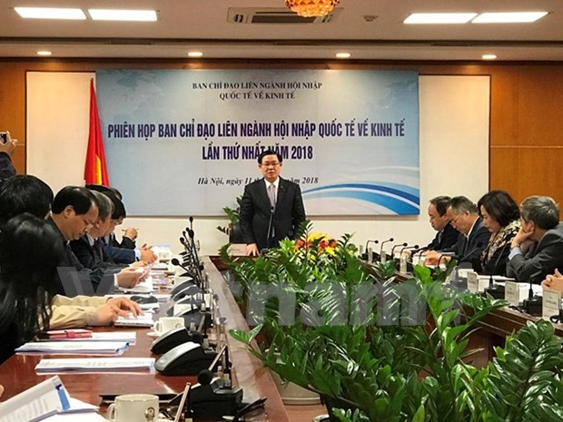 Efforts called for stronger int'l economic integration hinh anh 1