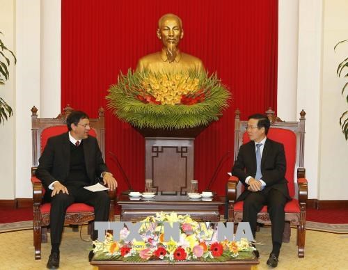Cuban Communist Party delegation welcomed in Hanoi hinh anh 1