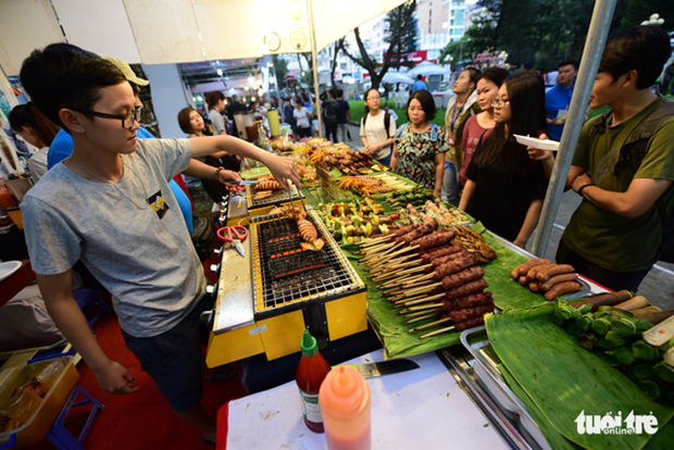 HCM City goes vibrant with 12th Taste of the World festival hinh anh 1