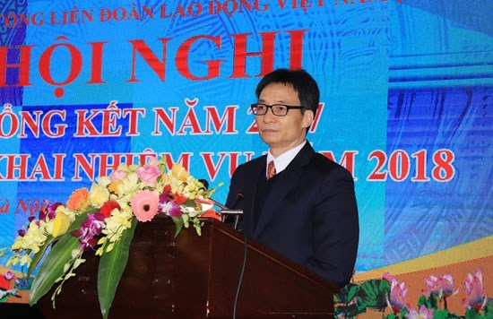 Workers urged to gear up for 4th industrial revolution hinh anh 1
