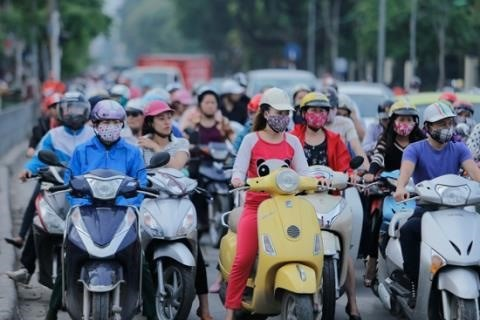 Sale of motorcycles up in 2017 hinh anh 1
