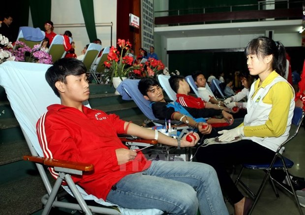 """""""Red Sunday"""" responded in various localities hinh anh 1"""
