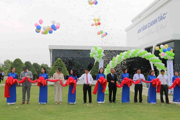 Vietnam's first smart fertilizer factory opened in Tra Vinh hinh anh 1