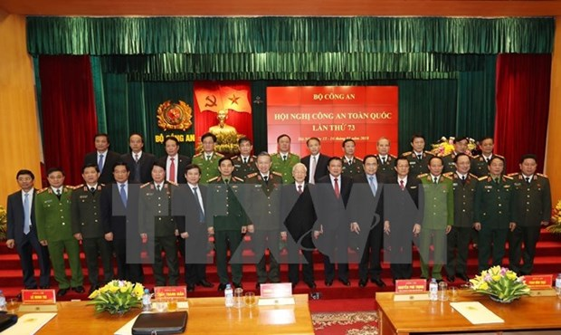 Public security sector reviews performance in 2017 hinh anh 1