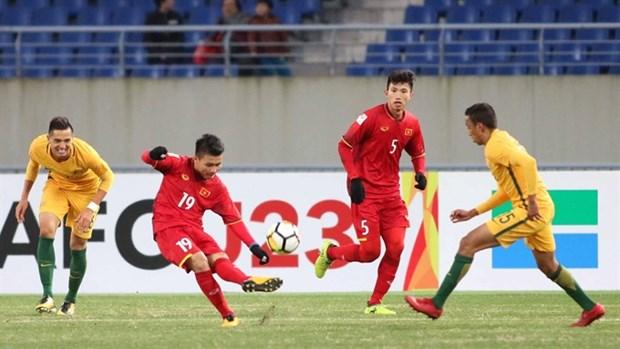 Vietnam beats Australia 1-0 in AFC U23 tournament hinh anh 1