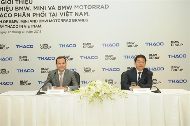 THACO aims to open 15 BMW, MINI showrooms hinh anh 1