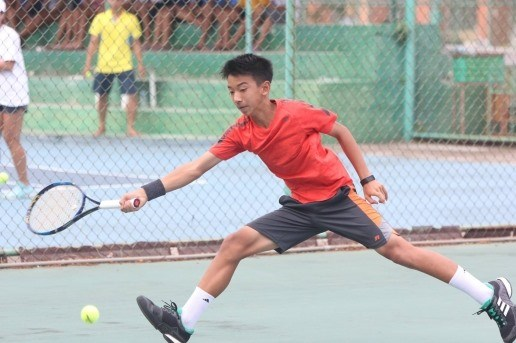 Uy, Thien grab double title at Asia U14 tennis event hinh anh 1