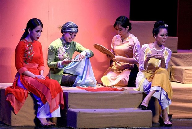 World of Youth drama troupe offers new show for Tet hinh anh 1