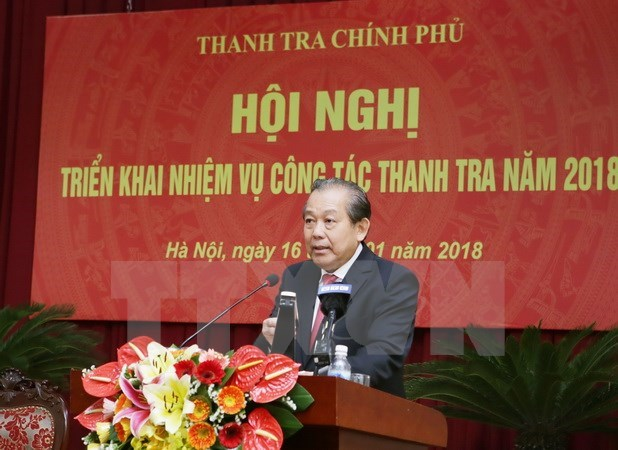 Inspectors urged to take measures against corruption hinh anh 1