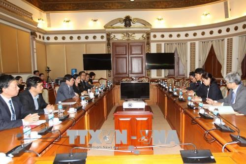 HCM City, Japan's prefecture promote tourism, hi-tech agriculture cooperation hinh anh 1