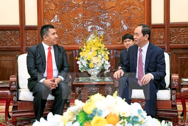President welcomes new foreign ambassadors to Vietnam hinh anh 1
