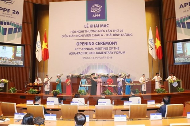 Top legislator chairs rehearsal for APPF-26 hinh anh 1