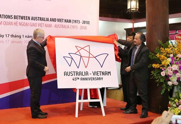 Vietnam, Australia launch 45th anniversary of diplomatic ties hinh anh 1