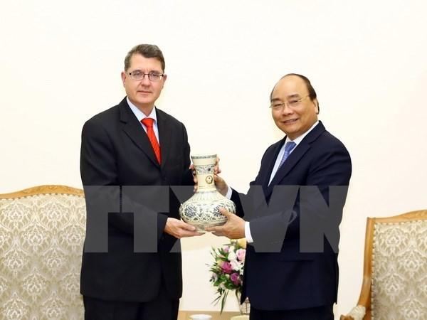 Prime Minister receives new Austrian Ambassador hinh anh 1