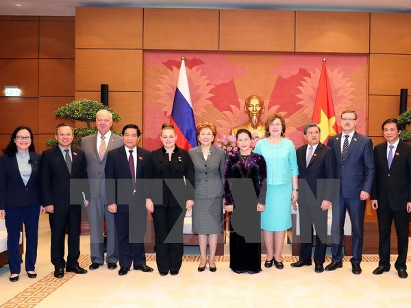Vietnam prioritises strengthening partnership with Russia: NA Chairwoman hinh anh 1