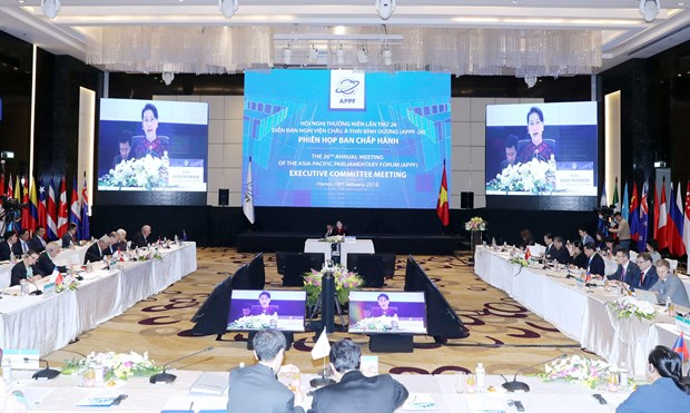 APPF Executive Committee adopts APPF-26 agenda hinh anh 1
