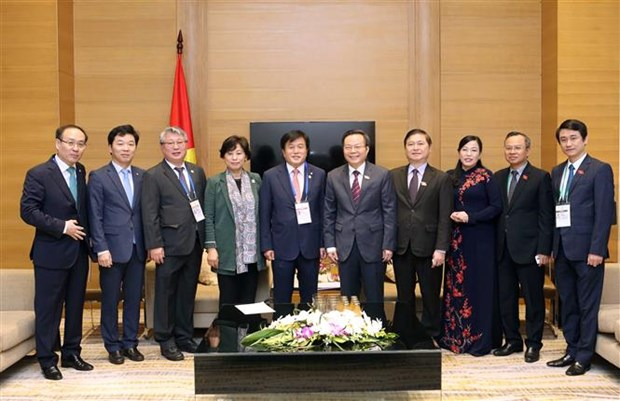 APPF-26: Vice NA Chairman receives RoK parliamentary delegation hinh anh 1