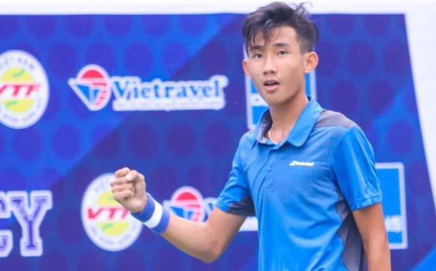 Vietnam's tennis teenager enters third round of Copa Del Cafe hinh anh 1