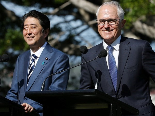 Australia, Japan pledge to sign CPTPP by March hinh anh 1