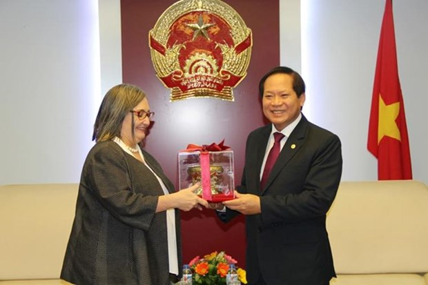 Vietnam, Google share wish for stronger cooperation hinh anh 1