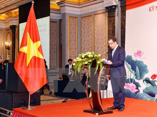 Vietnam-China diplomatic ties celebrated in Beijing hinh anh 1