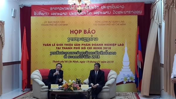 Lao firms to display products in HCM City for first time hinh anh 1