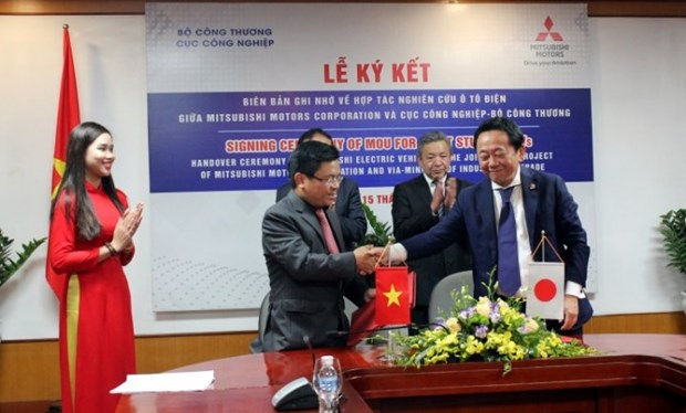 Vietnam, Mitsubishi Motors to develop electric vehicles hinh anh 1