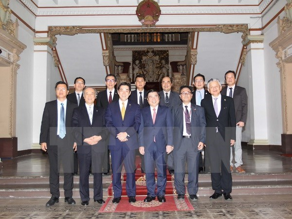 HCM City, Ehime prefecture seek cooperation opportunities hinh anh 1