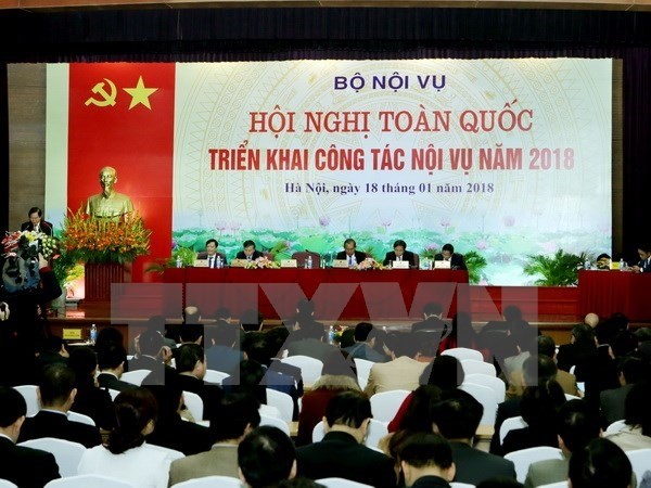 Home affairs ministry to boost personnel management hinh anh 1