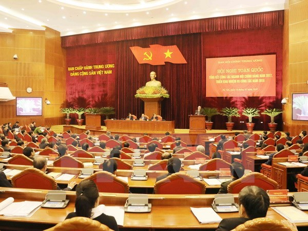 Party leader emphasises importance of Organisation Commission hinh anh 1