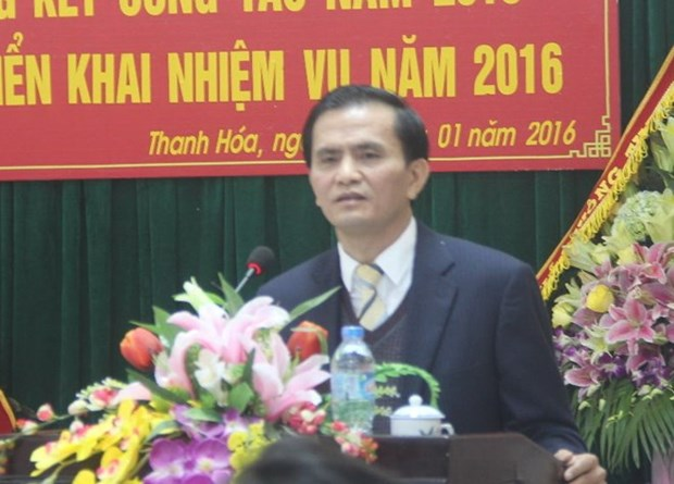 Thanh Hoa's People Committee Vice Chairman dismissed hinh anh 1