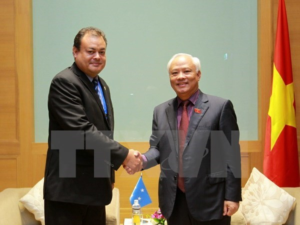 APPF-26: Vietnam, Micronesia promote parliamentary exchanges hinh anh 1