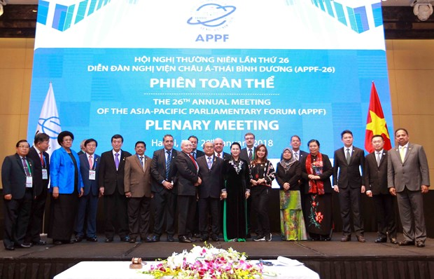 APPF-26 final plenary session approves Hanoi Declaration hinh anh 1