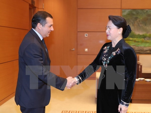 NA Chairwoman: Vietnam treasures relations with Mexico hinh anh 1