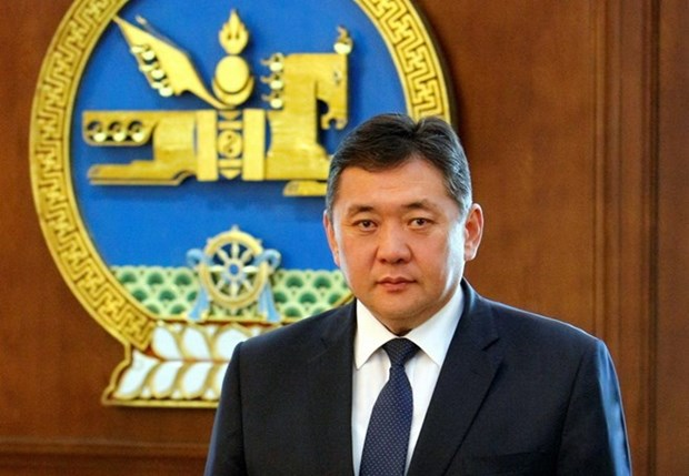 Mongolian Parliament Chairman begins official visit to Vietnam hinh anh 1