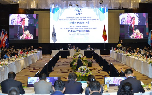 APPF lawmakers chalk out ways for regional cooperation hinh anh 2