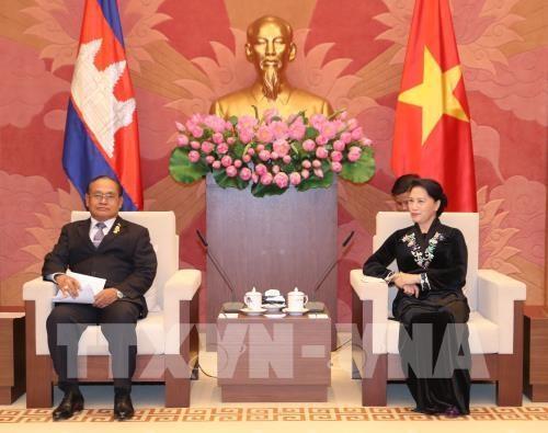 Vietnam, Cambodia legislators pledge to boost ties hinh anh 1