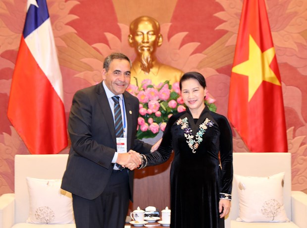 Top legislator of Vietnam receives leader of Chile's lower house hinh anh 1