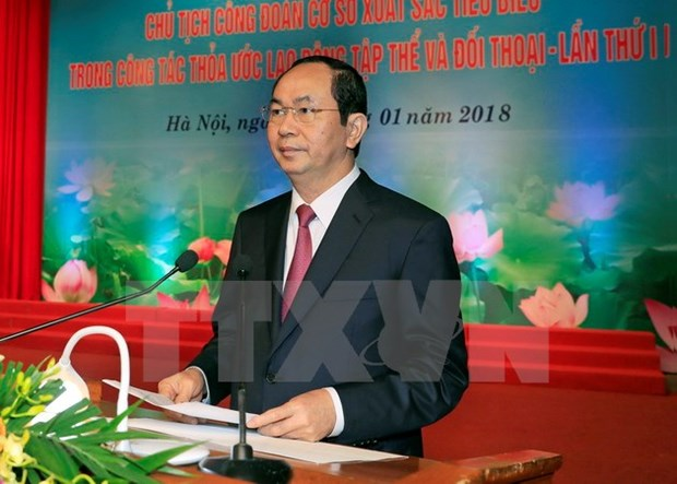 Extra efforts to care for labourers essential: President hinh anh 1