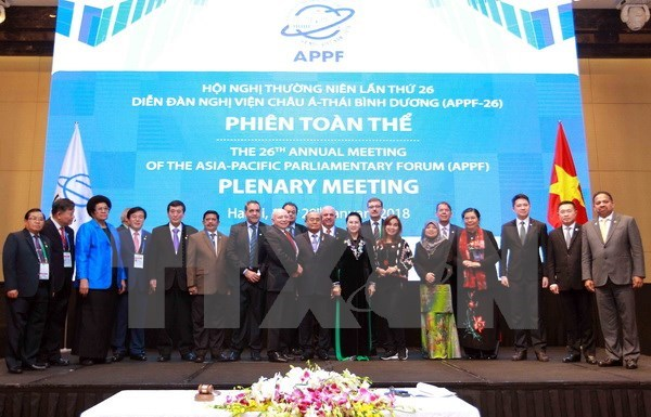 APPF-26 Hanoi Declaration sets new vision for parliamentary ties hinh anh 1