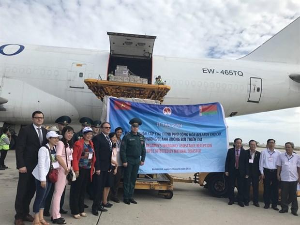 Belarus supplies humanitarian aid to Vietnam hinh anh 1